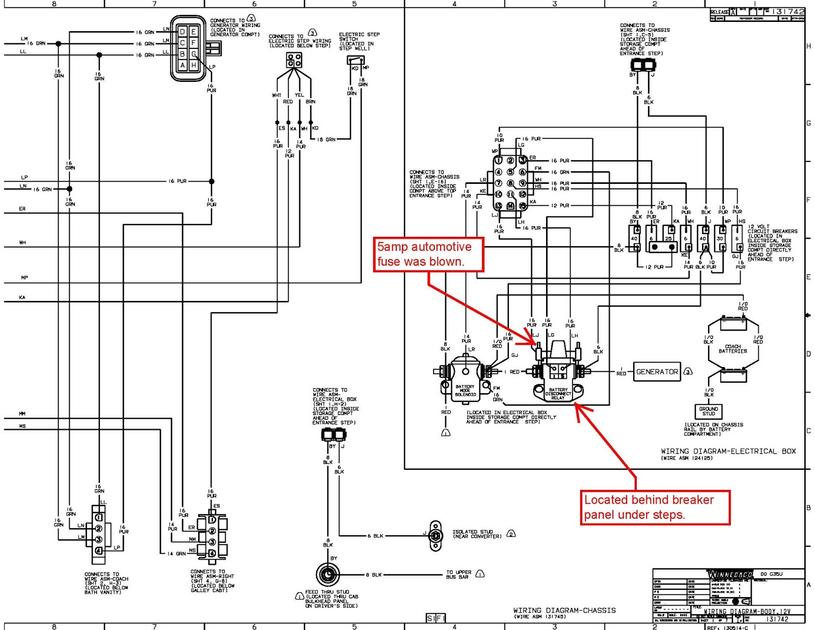 hight resolution of fuse location on battery disconnect solenoid