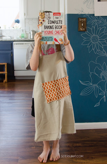 how to sew a modern apron
