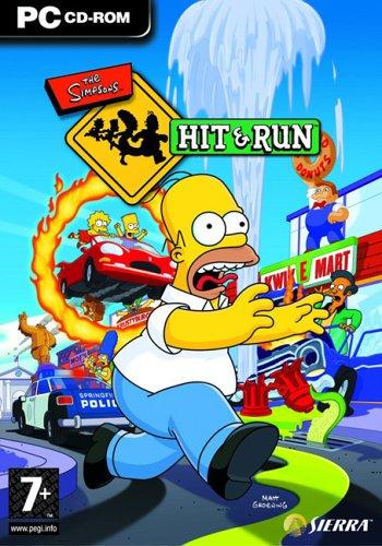 Los Simpsons Hit y Run PC Full Español ISO DVD5 Descargar