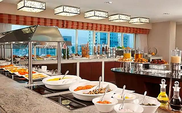 DoubleTree by Hilton Ras al Khaimahissa on hyvä aamiainen