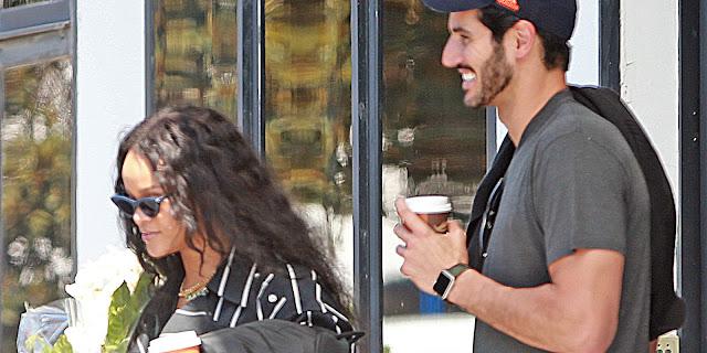 ريهانا ورجل الاعمال السعودي حسن جميل