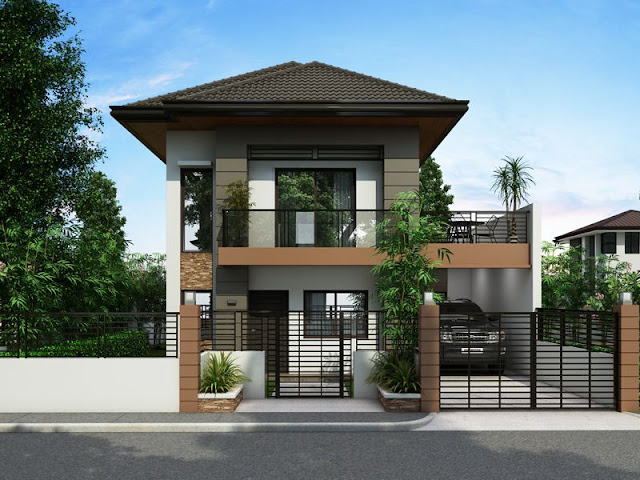 Simple exterior house design