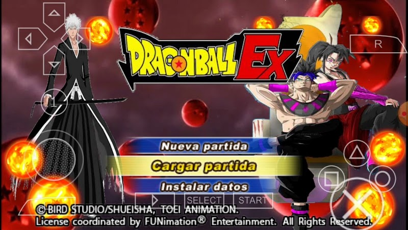 Download Dragon Ball Ex Tenkaichi Tag Team Mod PSP Game