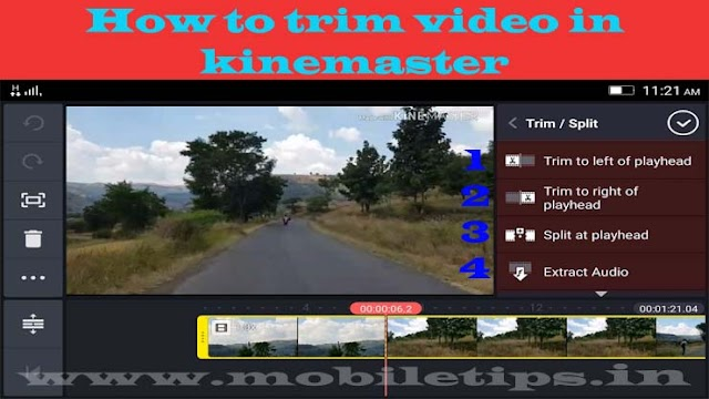 kinemaster app video editing tutorial part 1 video trimming