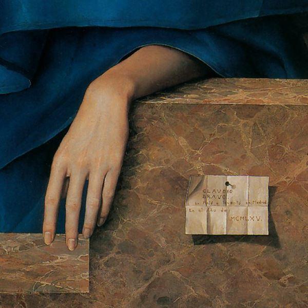 Claudio  ravo Camus Retrato de Mar C ADa Luisa Velasco detalle