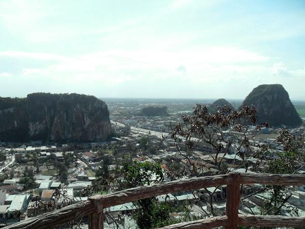 Las montañas de marmol de Danang