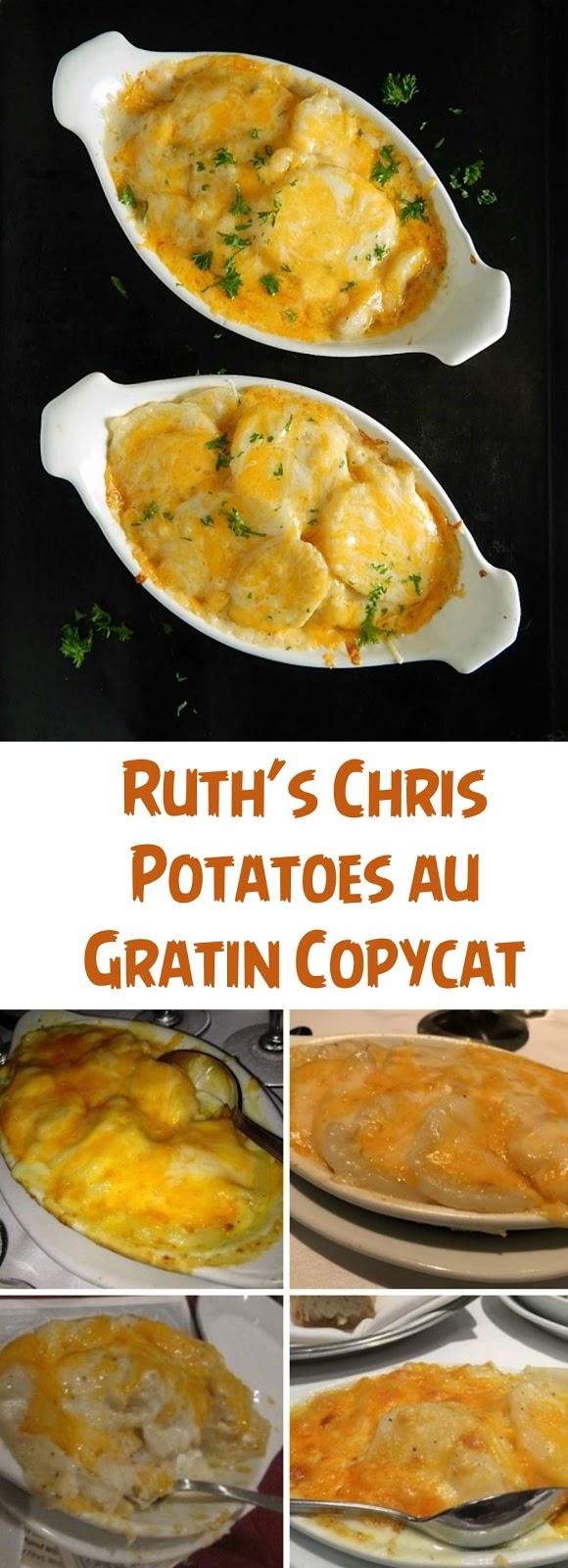 Ruth's Chris Potatoes au Gratin Copycat