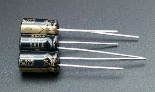Bentuk Kapasitor Elektrolit