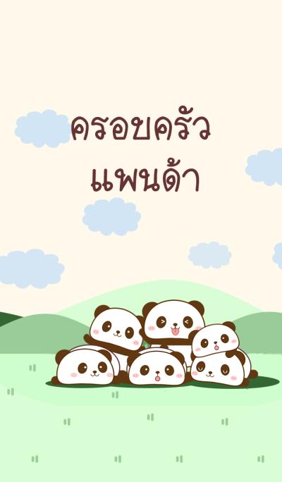 Happy Family Panda