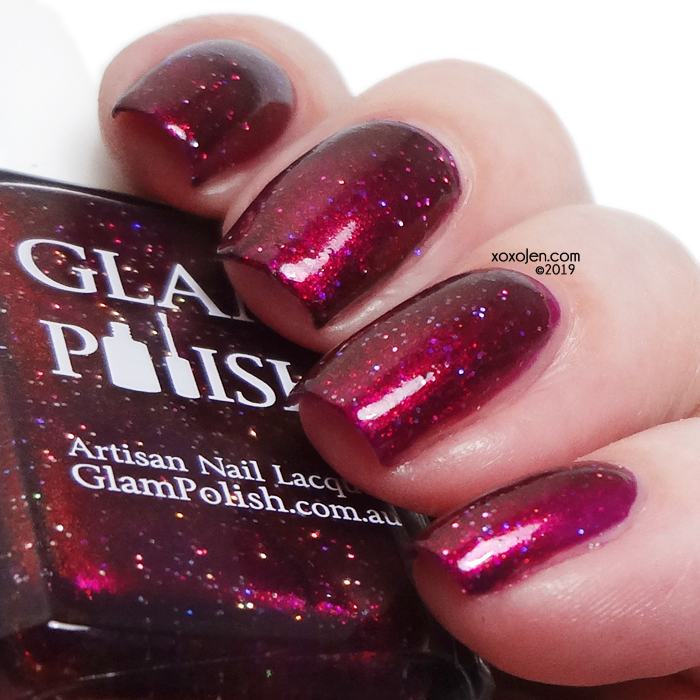 xoxoJen's swatch of Glam Polish Amortentia