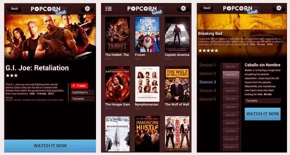 بديل نتفلكس Popcorn Time لمشاهدة احدث الافلام
