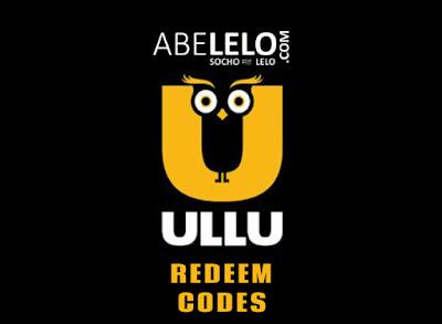 Ullu App Free Subscription Redeem Codes