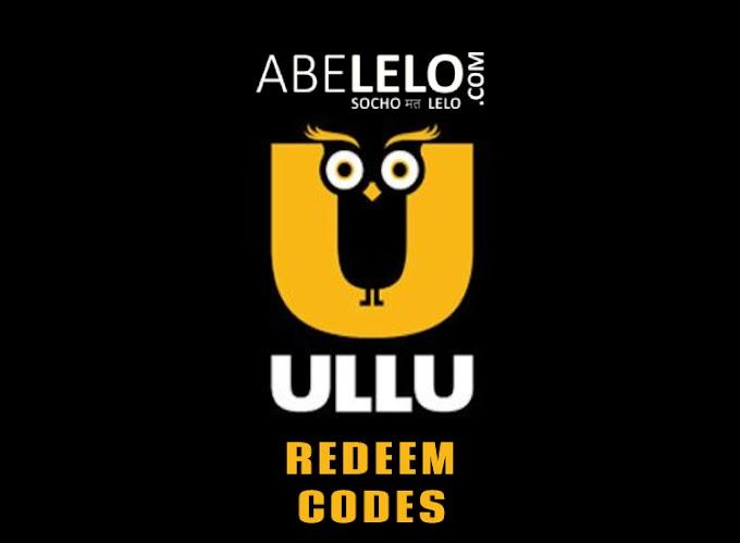 Ullu App Free Subscription Redeem Code 2021