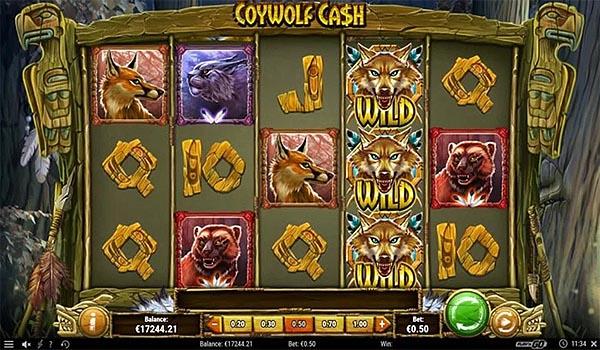 Main Slot Indonesia - Coywolf Cash (Play N Go)