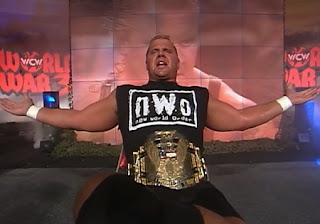 WCW War Games 1997 - Curt Hennig defended the US title against Ric Flair