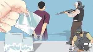 3 Kg Sabu Diamankan Polisi, 2 Pria Ditangkap Dan 1 Bandar Buron
