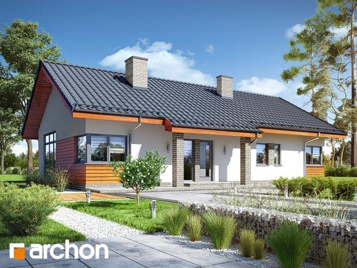 projekt domu - parterowy