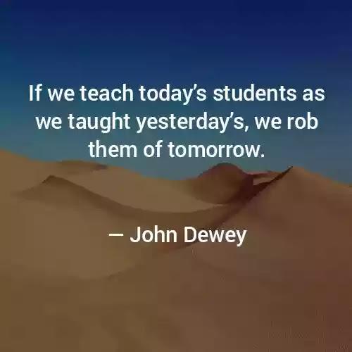 John Dewey great Quotes