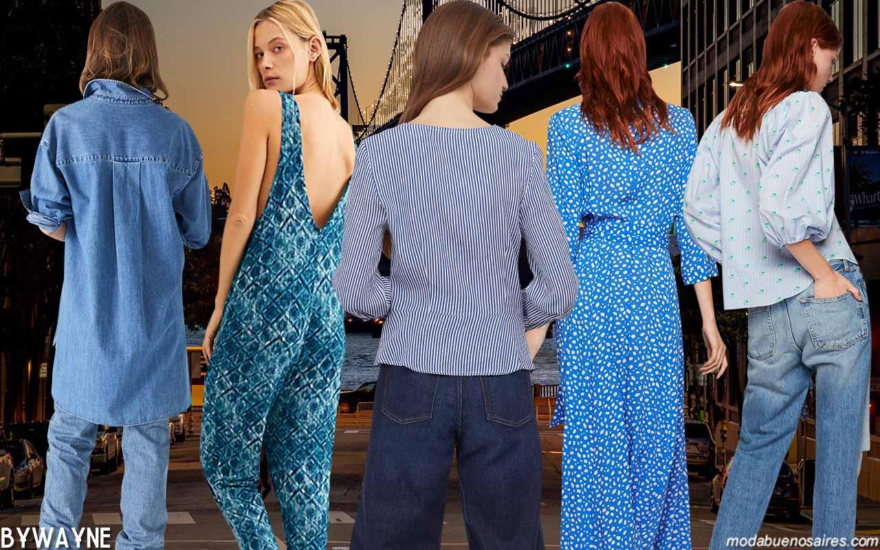 Ropa de mujer 2020: Colores de moda primavera verano 2020.