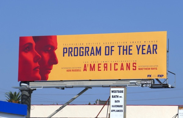 Americans Program of year 2018 Emmy nominee billboard