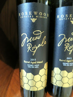 Rosewood Estates Mead Royale Honey Wine 2015 (88 pts)