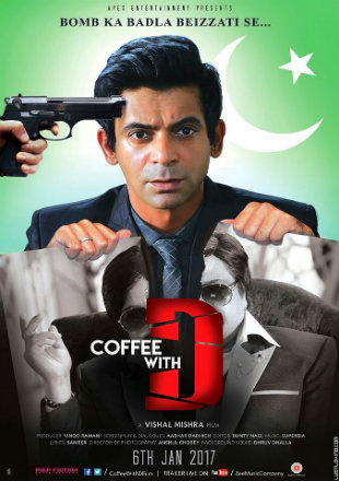 Poster of Coffee With D 2017 Full Hindi Movie Download HDRip 720p