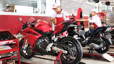 Dealer Motor Honda Cibitung Kredit DP Murah