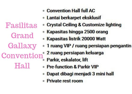 Pengalaman Mempersiapkan Pernikahan di Gedung Bekasi, gedung pernikahan di Bekasi, Bekasi Wedding Exhibition Grand Galaxy Convention Hall Jakarta Event Enterprise
