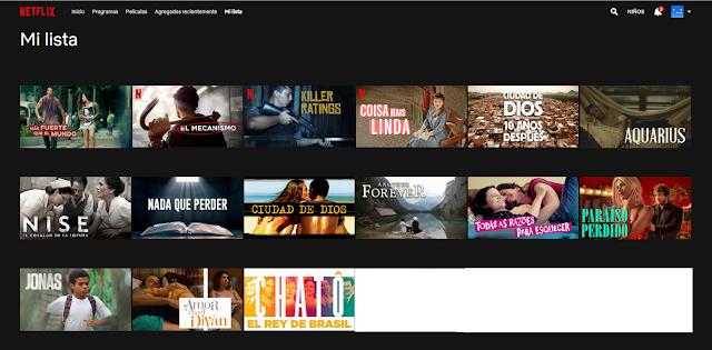 Películas brasileñas en Netflix