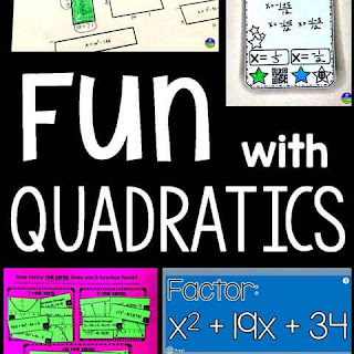 Fun with Quadratics