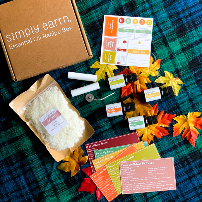 Simply Earth October Recipe box