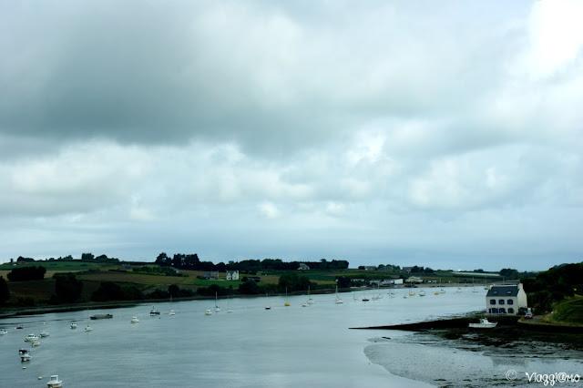 Panorami tipici della Bretagna del nord