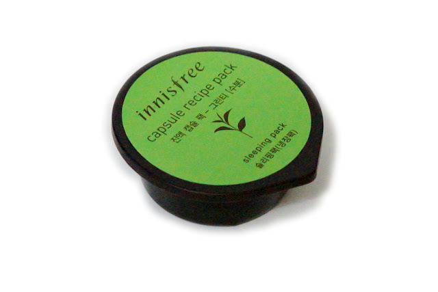 Innisfree Capsule Recipe Pack in Green Tea