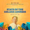 UPCD's State of the College Address by Dean Danilo Magtanong