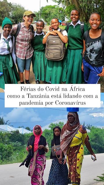 coronavírus Tanzânia