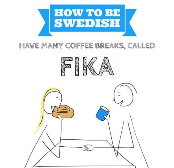 Fika - تقليد سويدي للغاية - كيفية تأخد Fika مثل السويدي