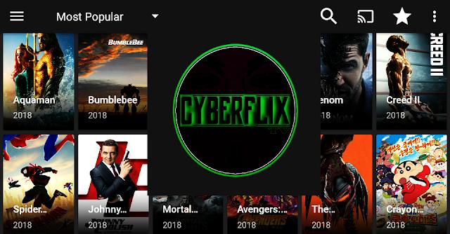 تطبيق cyber flix بديل terrarium tv لمشاهدة الافلام و المسلسلات