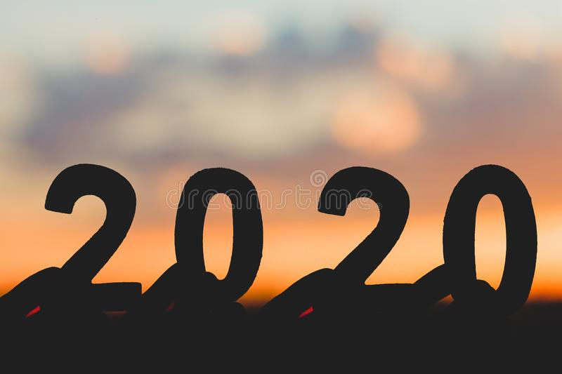 Advance Happy New Year 2020 - Frohes Neues Jahr wünscht