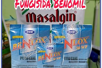 7 Merk Fungisida Berbahan Aktif Benomil (Benomyl)