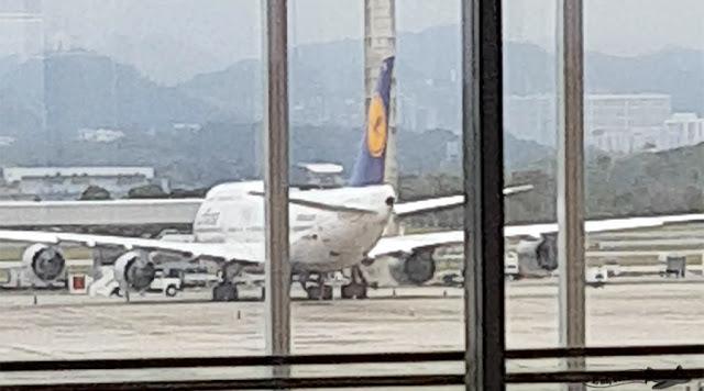 Lufthansa no Galeão