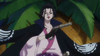ワンピースアニメ 989話 ワノ国編 | イゾウ かっこいい IZO | ONE PIECE 白ひげ海賊団隊長  | Hello Anime !