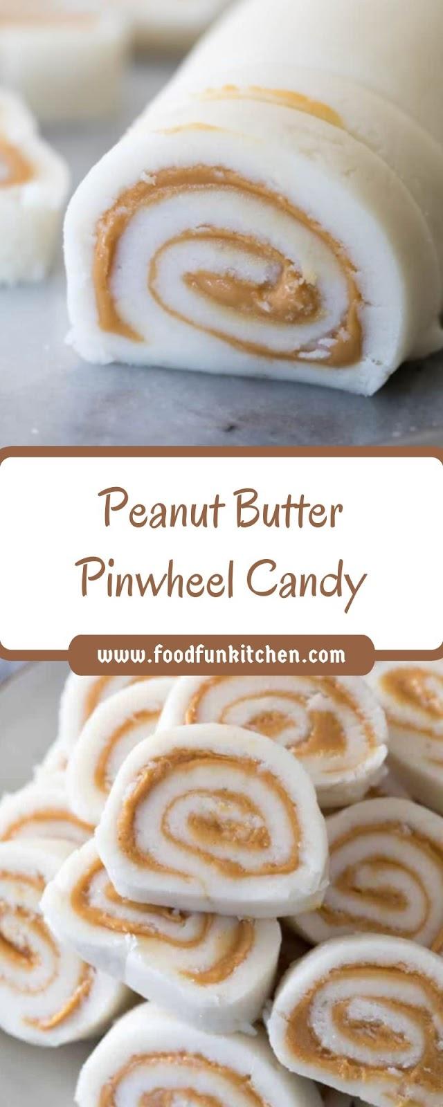 PEANUT BUTTER PINWHEEL CANDY