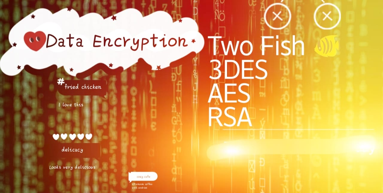 AES Triple Data Encryption Detail information about each. 🔥