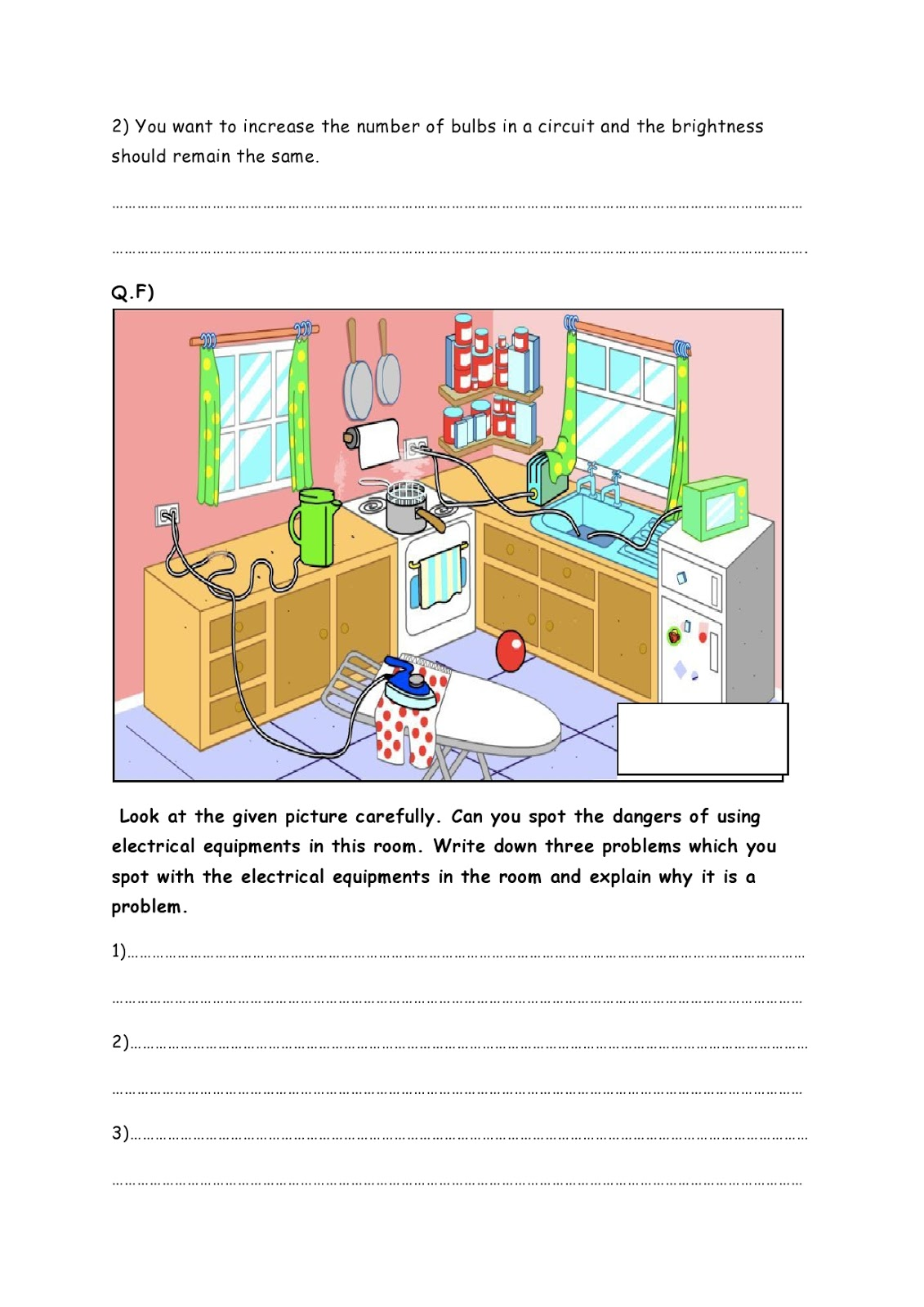 Birla World School Oman Revision Worksheets For Grade 4