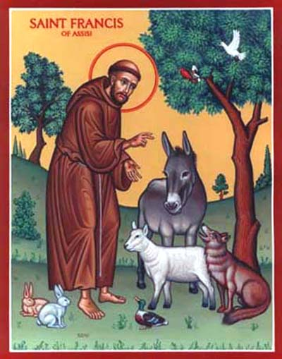 Prayers for Our Pets: Feast of St  Francis of Assisi, Patron