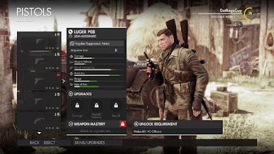 luger p8 sniper elite 4