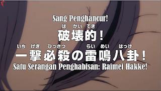 One Piece Episode 915 Sub Indonesia