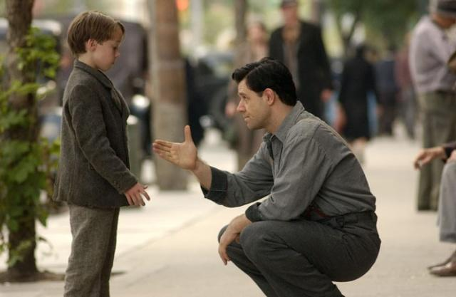 James Braddock teaching his son a life lesson about integrity
