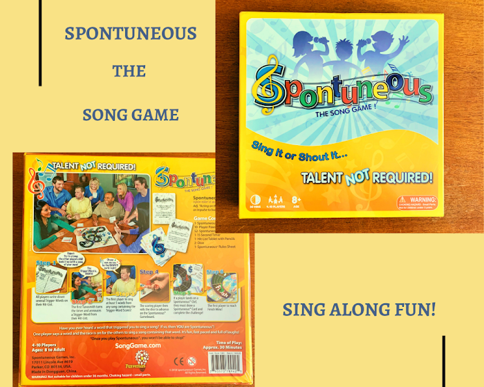 Spontuneous: The Song Game for Cool Music Loving Dads