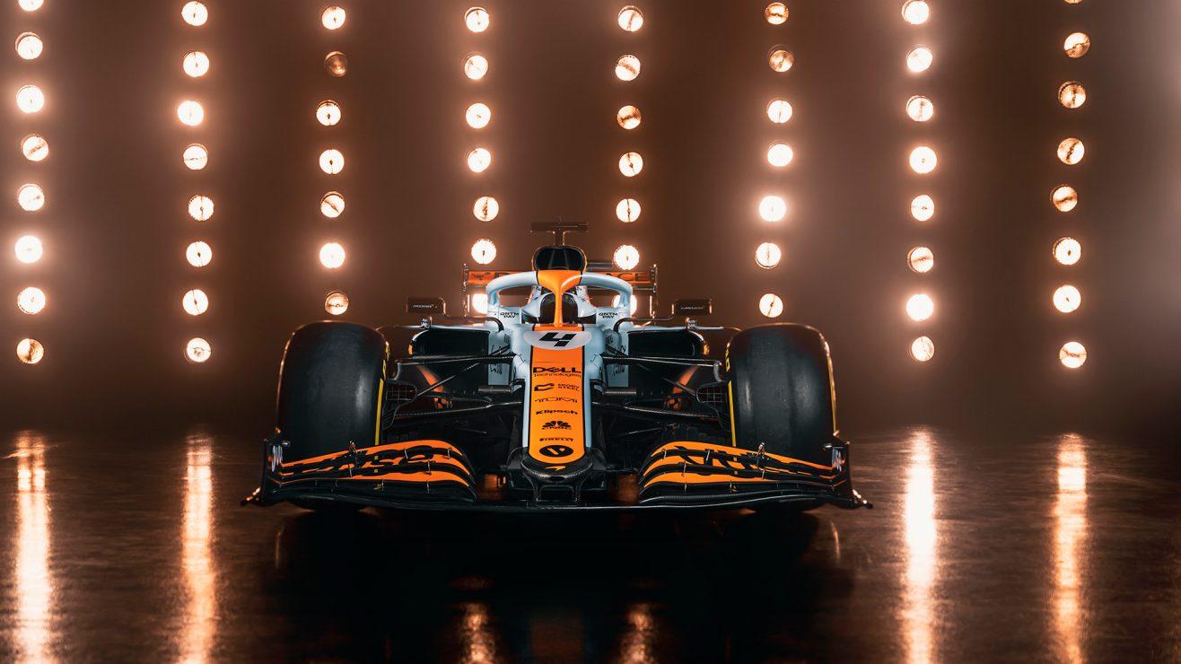 McLaren fará uma decoração única para o Grande Prêmio de Mônaco, inspirada no icônico esquema de cores do Golfo